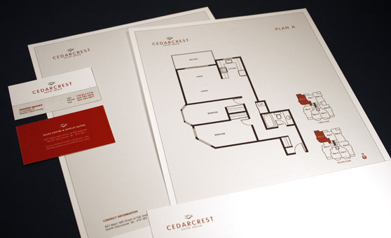 Cedarcrest Real Estate Project Marketing Design - Rennie Marketing Systems