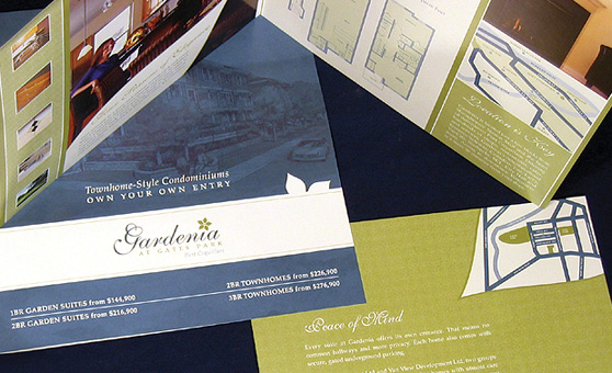 Gardenia Real Estate Project Marketing Design - Rennie Marketing Systems